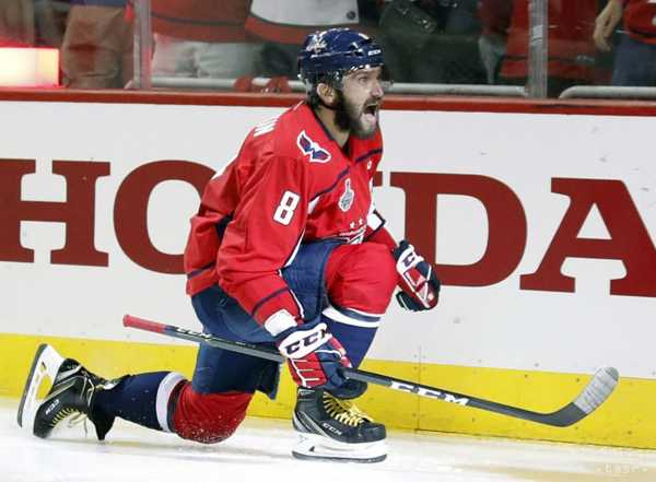 Alexander Oveckin Washington Capitals.