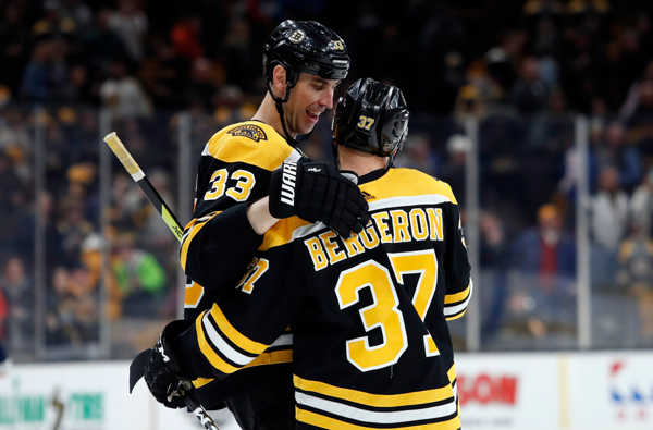 Chara Bergeron Boston.